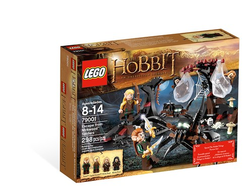 LEGO The Hobbit 79001 Escape from Mirkwood Spiders