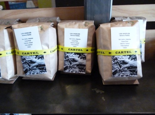 Cartel Coffee bags