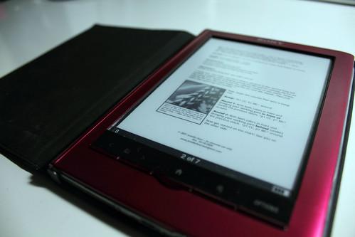 344/365 - December 9, 2012 - Something you're reading