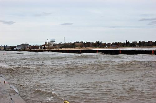 Lake Michigan after Sandy 30