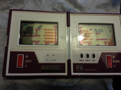 Game & Watch Mario Bros. - in game