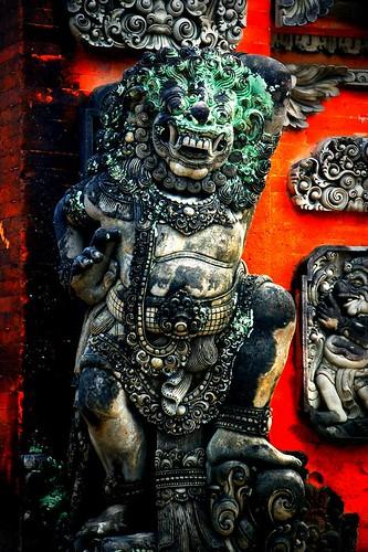 Bali temple detail