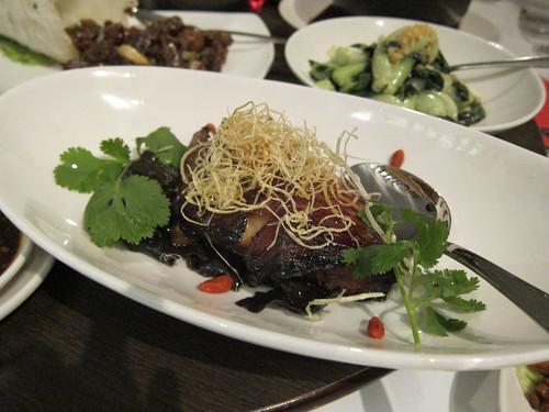 Alaskan Black Cod Fillet Roasted in Sha Cha Sauce