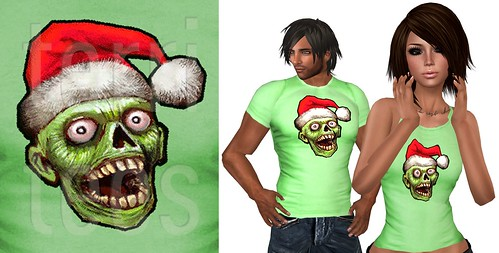 promo christmas zombie L