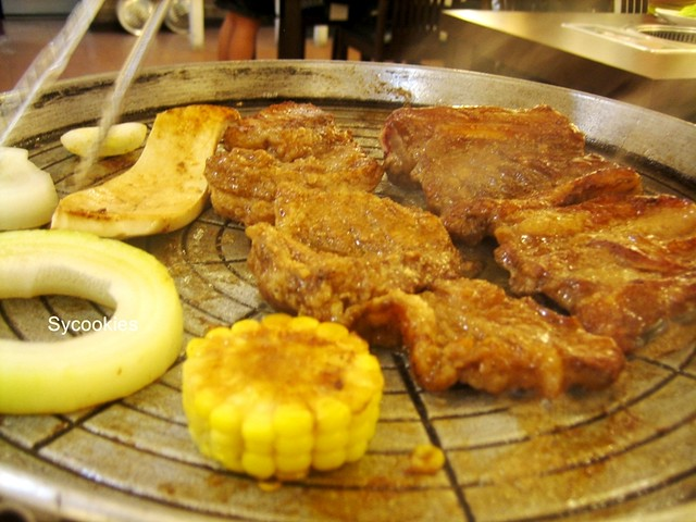 4. bbq  @ mr lim korean restaurant