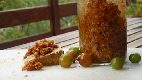 Pumpkin & Tomato Tapenade - Tapenade di Zucca & pomodoro