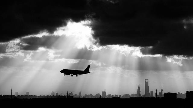 Departing Shanghai