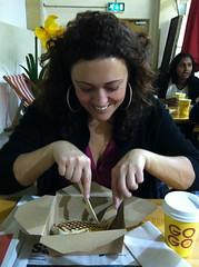 Allegra at The Breakfast Club Pop Up