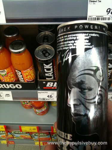 Mike Tyson Black Power Energy Drink