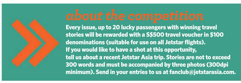 Jetstar Asia competition