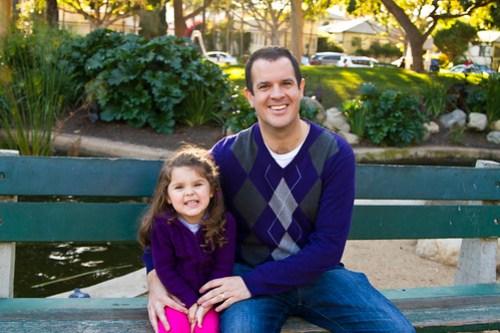 Annie & Daddy