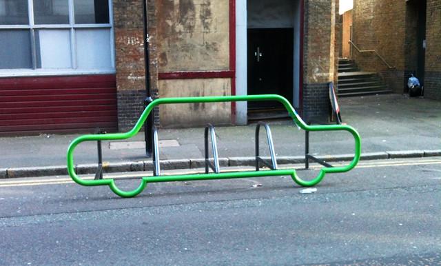 Hackney bike stand