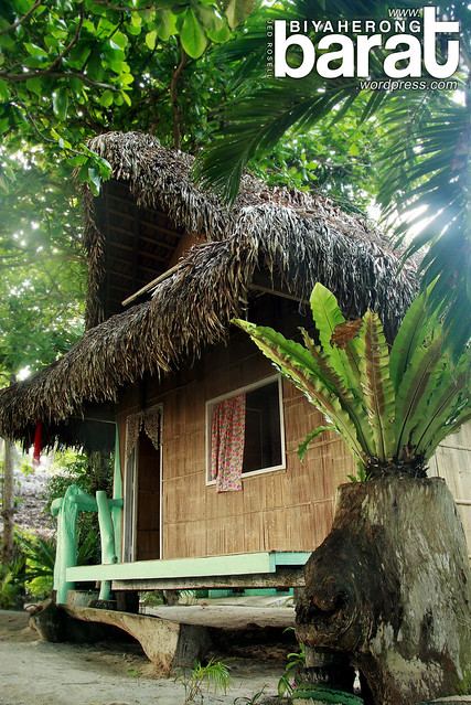 Sasag Hut in Pansacola Resort good for 12 persons