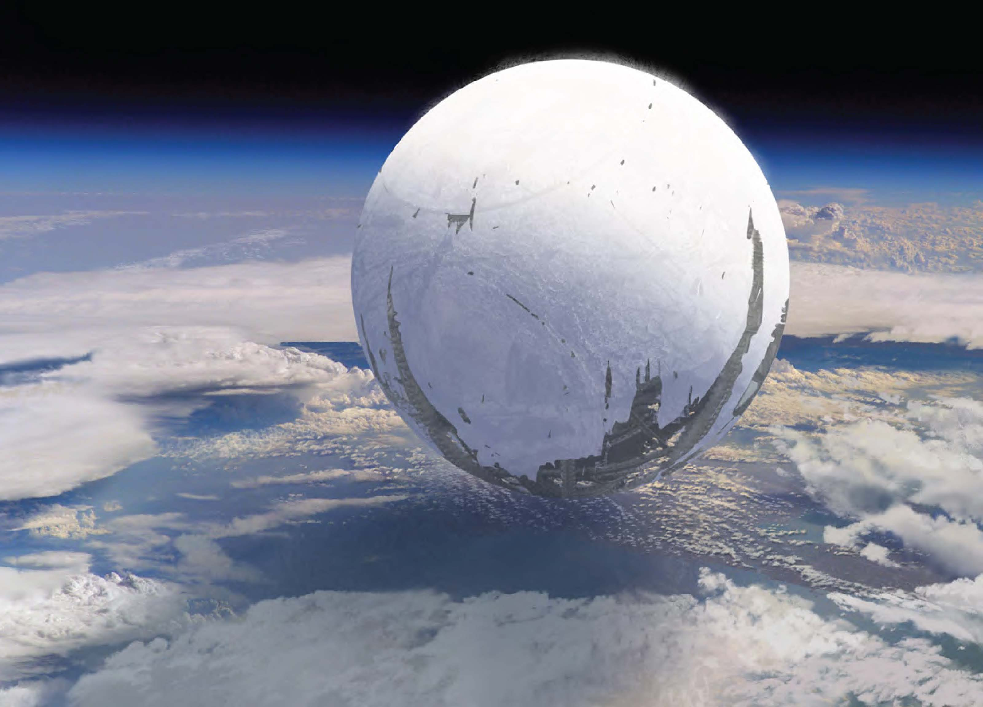 Concept art for Bungie's Halo 4 follow up called Destiny