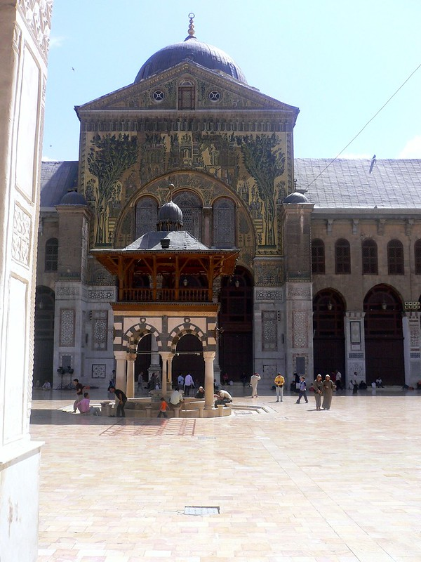 The Umayyad mosque in Dasmascus