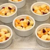 Apple Persimmon Cran Crisp