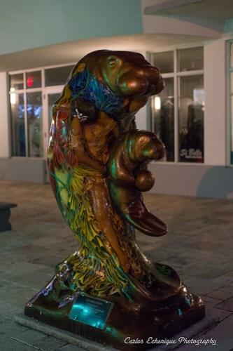 Manatee Statue