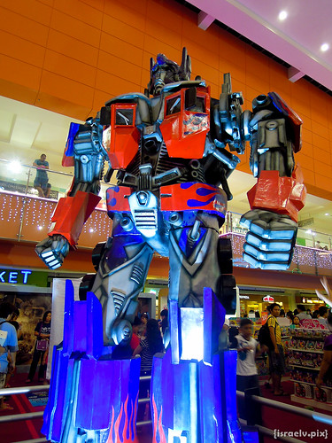 Optimus Prime (Movie) by {israelv}