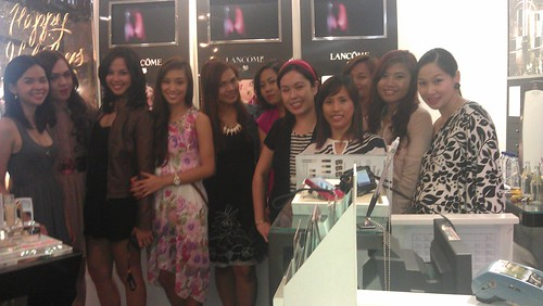 Lancome Holiday 2012 event
