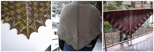 triangle shawls