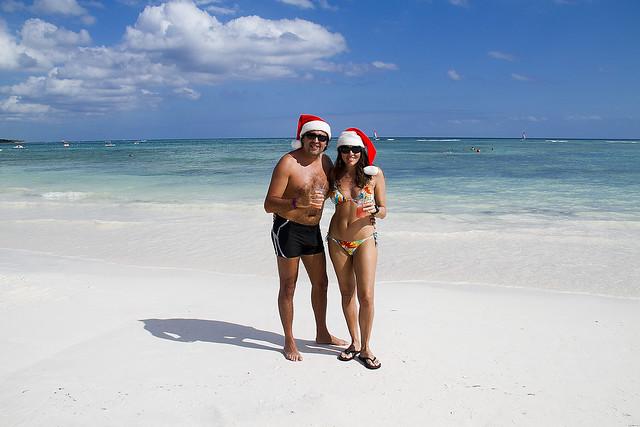 Navidades en el Caribe, Riviera Maya