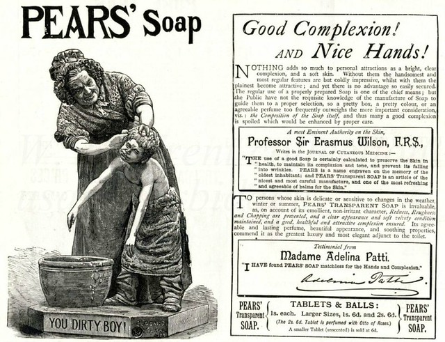 British advertisements -1889.