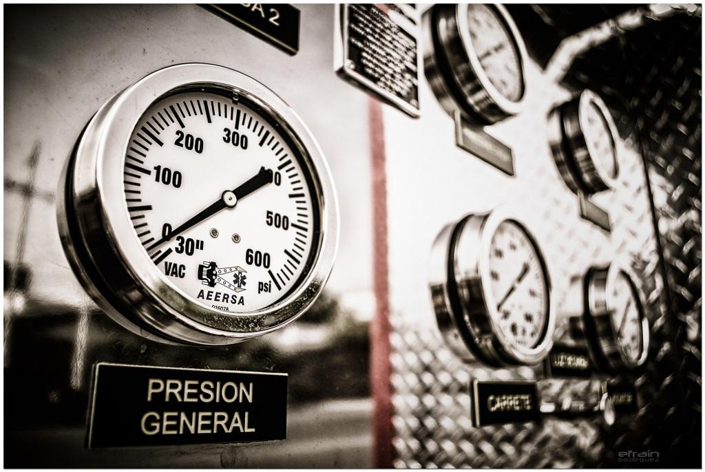 2012-11-09: Presión general