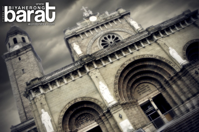 Manila Cathedral Intramuros Manila Philippines