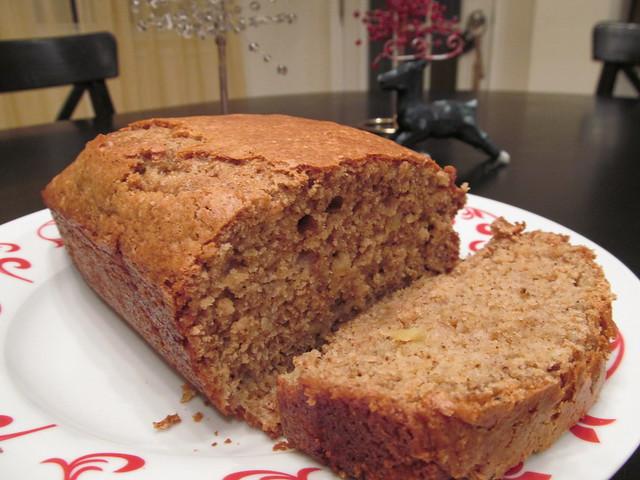 Gingerbread Apple Bread