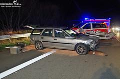 Schwerer Unfall A3 vor Raunheim 30.11.12