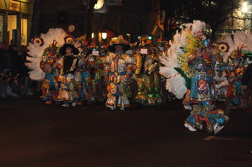 Mummers! (the highlight of the parade for me!)
