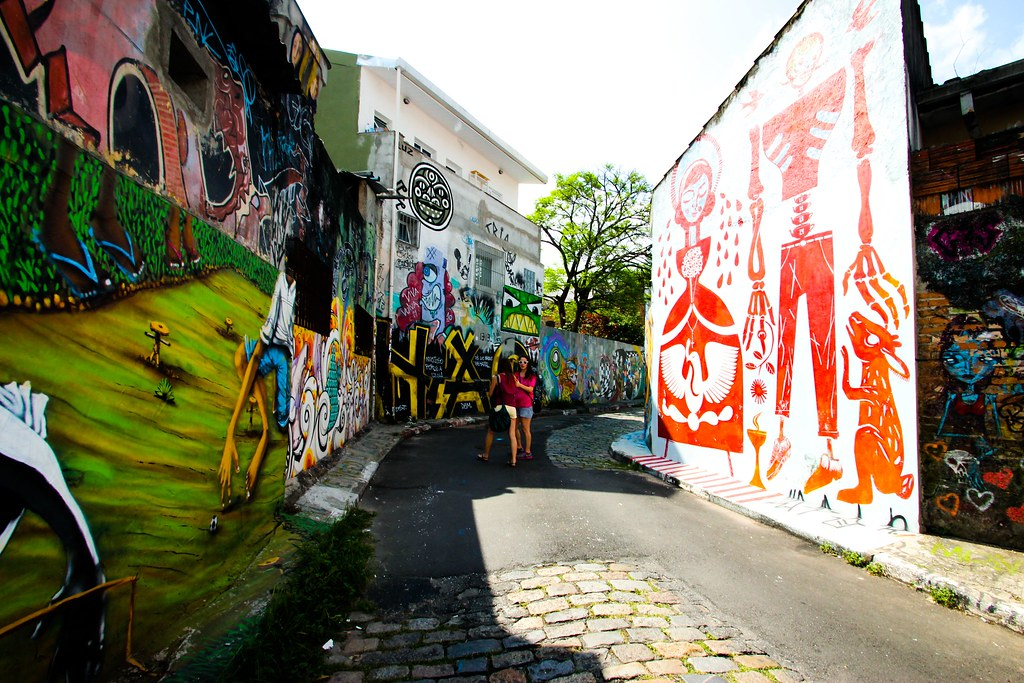 Batman's Alley - Sao Paulo, Brazil