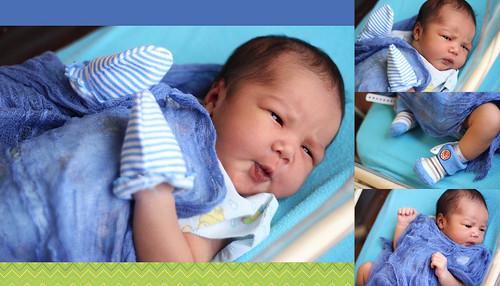 Introducing Muhammad Ali Irfaan   Newborn Portraiture