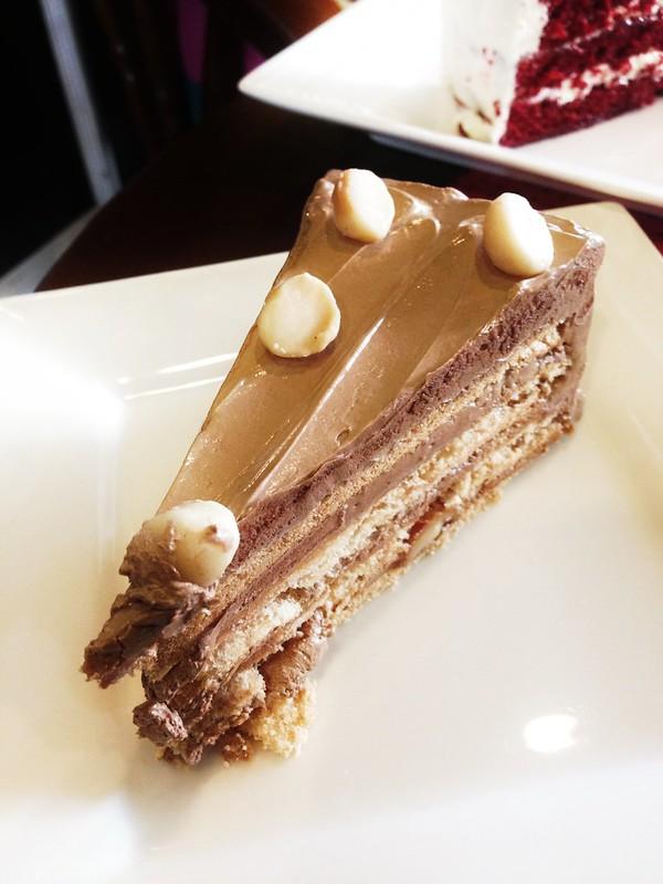 Chocolate Macadamia Sansrival at Cake Planet