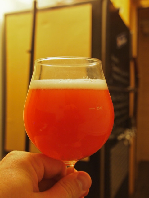 Raspberry Hefeweizen Homebrew