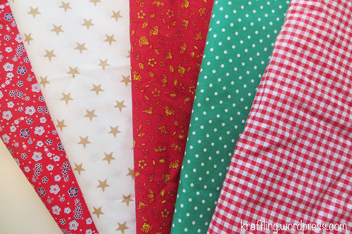 Fabric for Mini's Advent calender