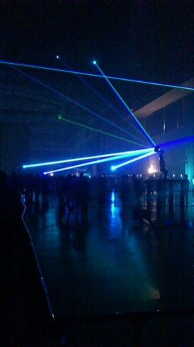 electraglide 2012 robot arm laser