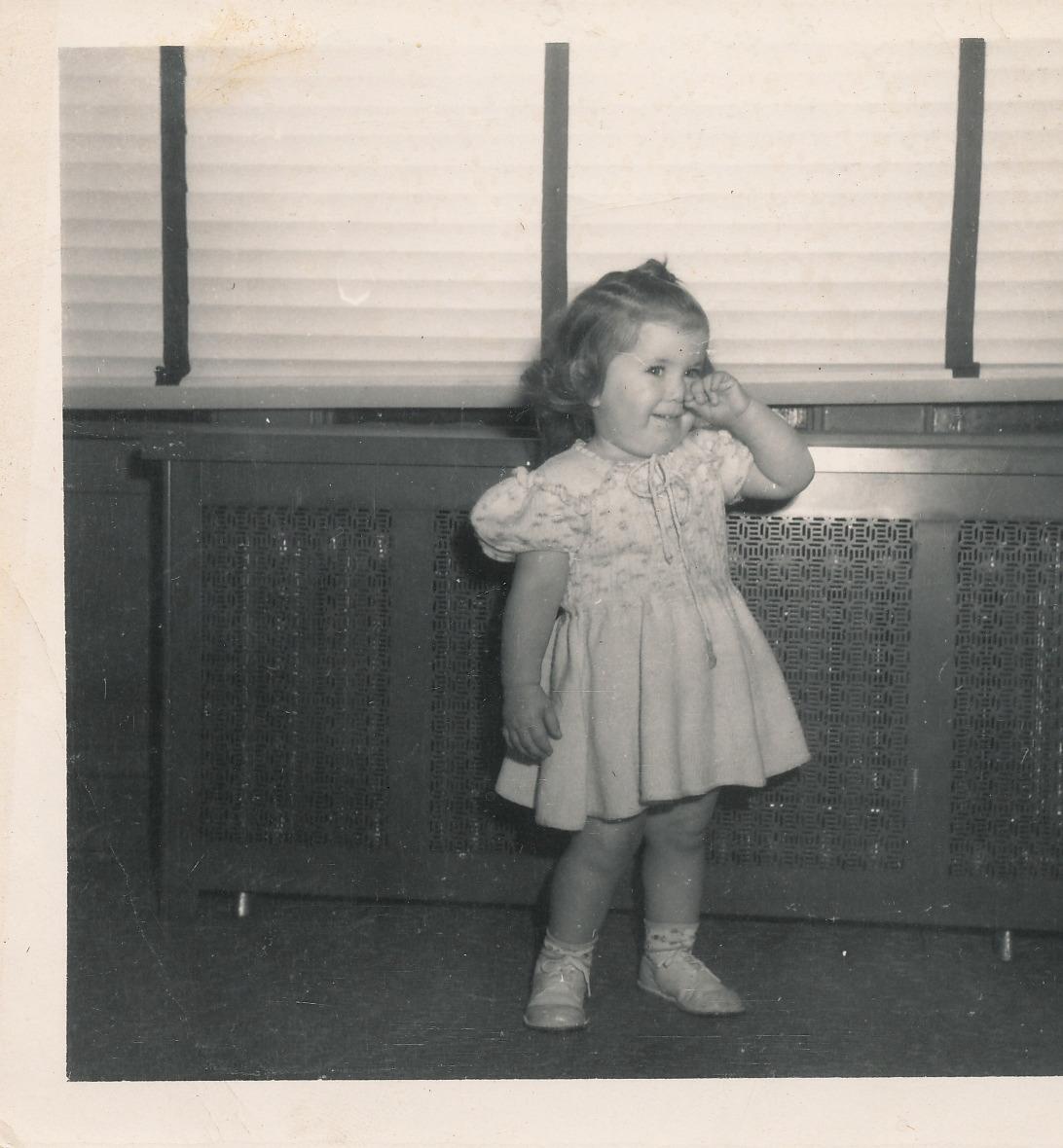 GARAGE Judy Shapiro Oct. 1948
