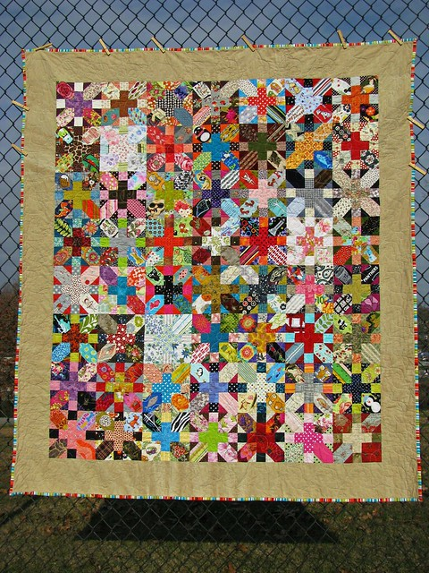 Tough Chickie Quilt, a Quilt About Divorce 3