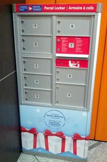 Canada Post Parcel Locker