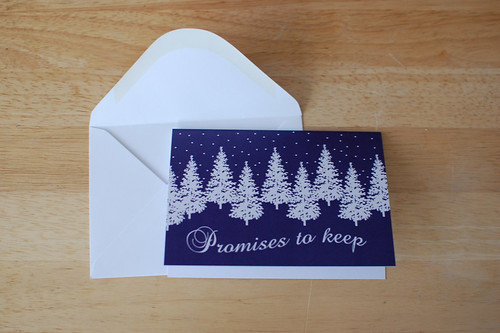 Promises to Keep Notecard