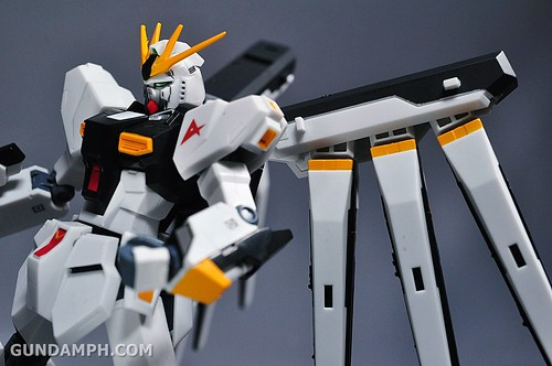 Robot Damashii Nu Gundam & Full Extension Set Review (73)