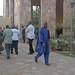 Samuel Sidibé, directeur du Musée national, 25e anniversaire de l'ONG Sasakawa Global 2000, Musée national de Bamako, nov 2011 © Eric Benhamou