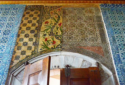Lost Porcelain Tiles, Imperial Pavilion of The New Mosque