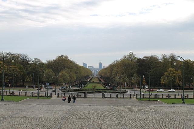 Bruxelles vue depuis la Basilique du Sacré-Cœur