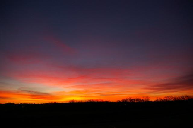 Sunrise Day After Black Friday