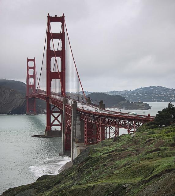 A Rainy January Day - Golden Gate - 2010