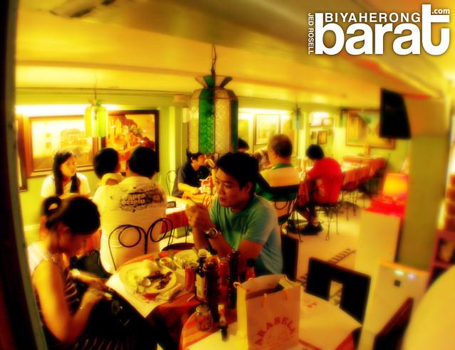 dining at arabela restaurant in laguna