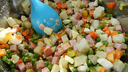 Russian Potato Salad 16