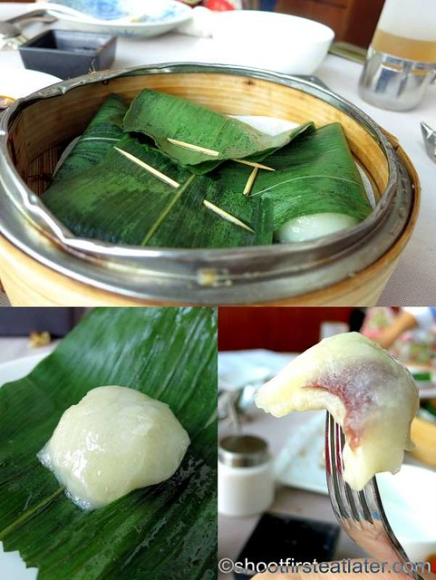 glutinous red bean paste dumpling HK$48